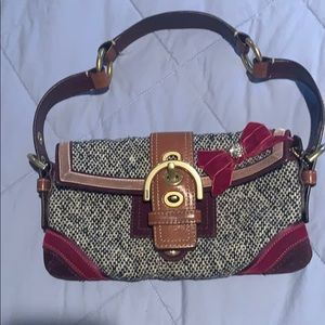 Coach SoHo Tweed shoulder bag